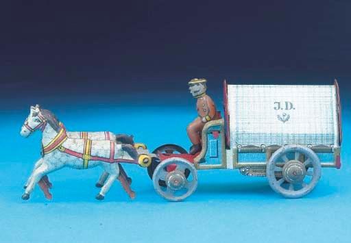 A rare Distler horse-drawn Wag