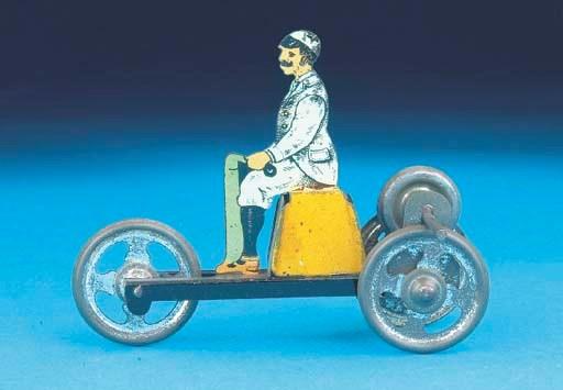 A German flywheel-drive Tricyc
