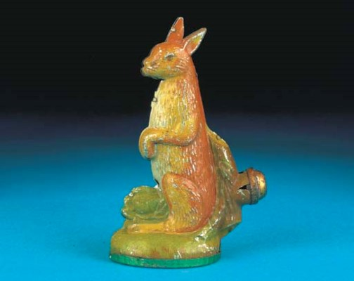 A German Standing Hare
