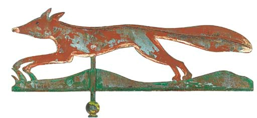 A COPPER WEATHERVANE