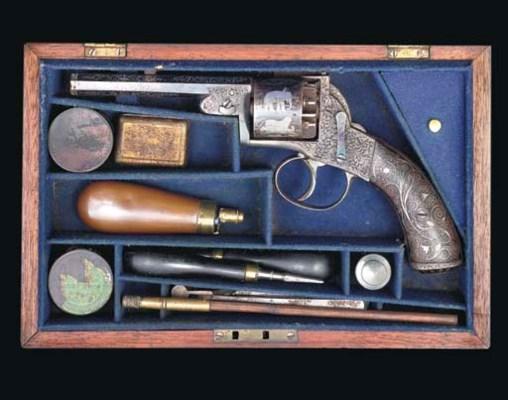 AN UNUSUAL CASE 6-SHOT 80-BORE