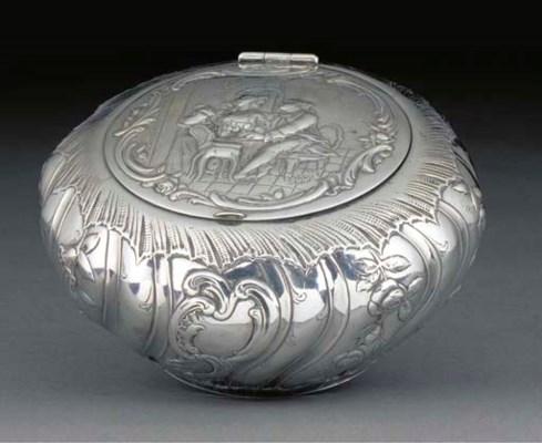A Continental Silver Box