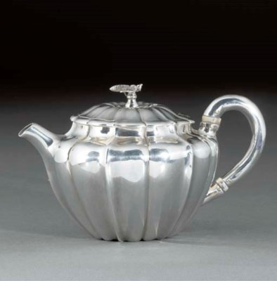 A George IV Silver Teapot