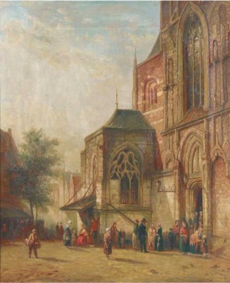 Circle of Henri Schafer, 19th