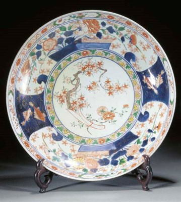 An Imari charger, early 18th c