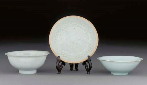 A Yingqing shallow dish, Song