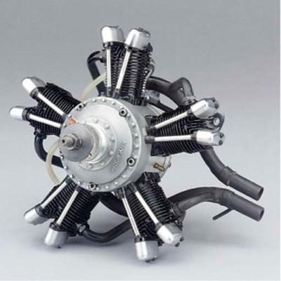 A Saito FA 325 R5 five cylinde