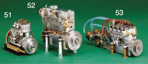 An all-aluminium four-cylinder