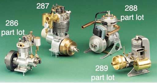A Water Witch marine engine,