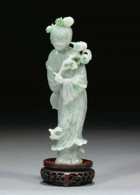 A Chinese jadeite model of Gua