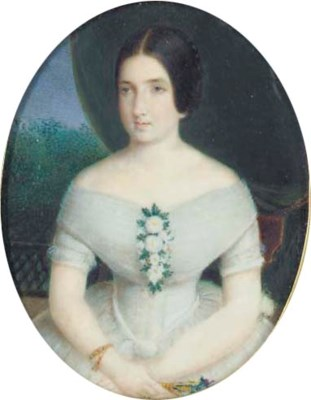 Domenica Monvoisin, 1860