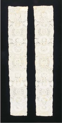An interesting pair of lappets