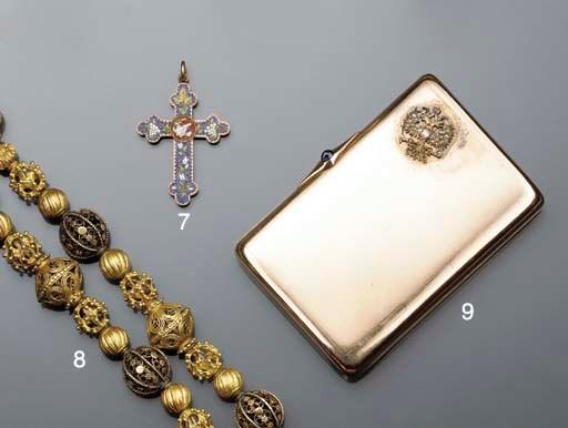 A 19th century Italian gold, m