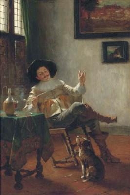 Max Volkhart (German 1848-1935