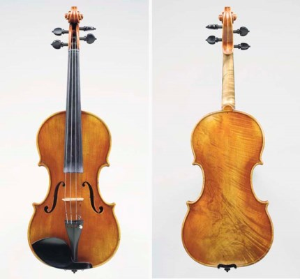 AN INTERESTING VIOLIN, LABELLE
