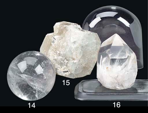 A crystal ball,