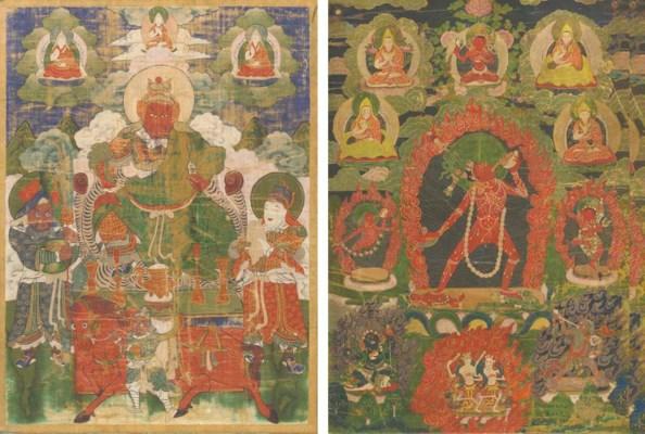 A Tibetan Thangka, 19th/20th c