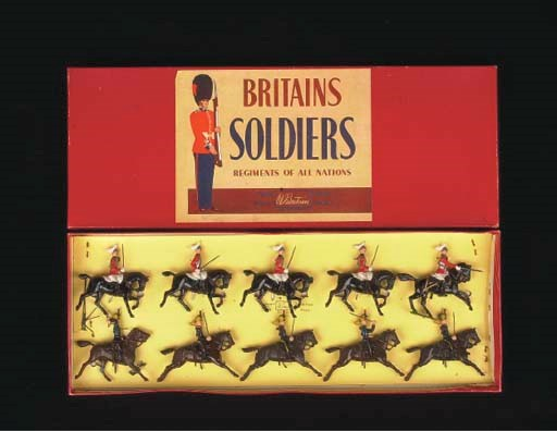A post-war Britains set 50 Bri