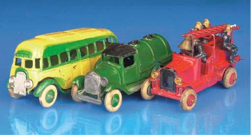 Various vehicles,  1930s