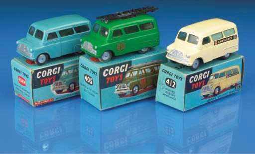 Corgi 1st type Bedfords with s