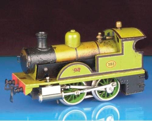 A Bing spirit-fired steam LSWR