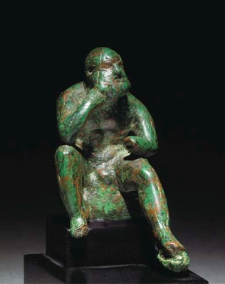 A LATE HELLENISTIC BRONZE STAT