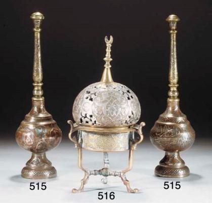 A Cairoware incense burner, 19