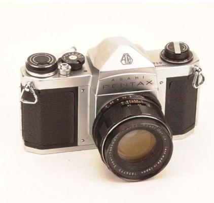 Pentax Spotmatic cameras