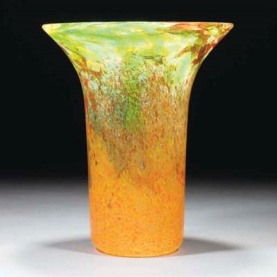 A Monart PG Vase