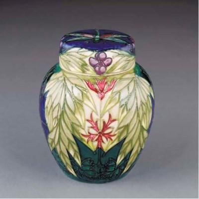 A Moorcroft Ophelia Ginger Jar