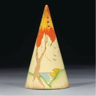 An Orange Taormina Conical Sug