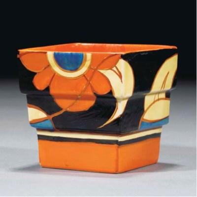 A Blue-Eyed Marigold Fern Pot