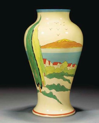 A Clovelly Mei Ping Vase