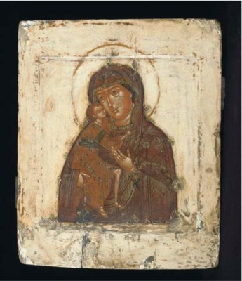 The mother of god feodorovskai