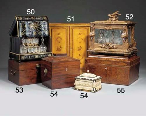 A Late George III mahogany apo