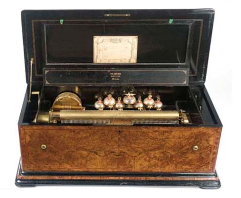 An orchestral musical box by G