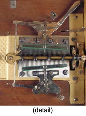 A 13¼-inch Symphonion disc mus