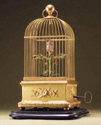 A Bontems singing bird automat