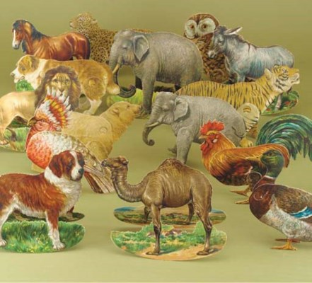 Tuck's Stand-up Chromolithogra