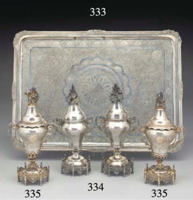Two Turkish Silver Pastille Va