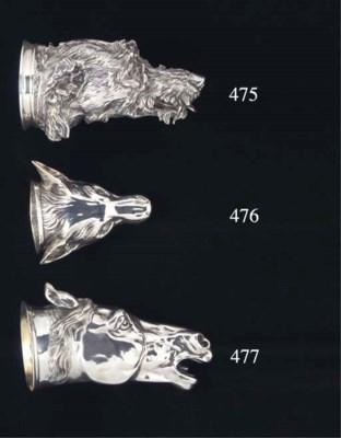 A Fine Victorian Silver Stirru