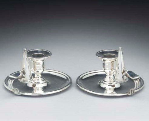 A Pair of Victorian Silver Cha