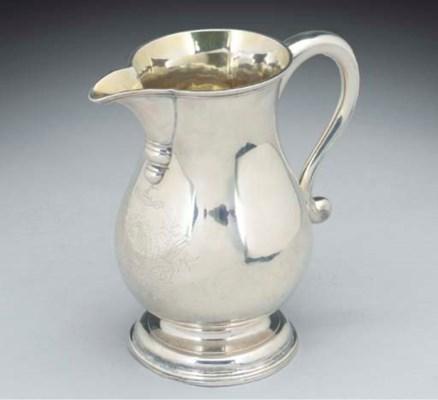 A George II Irish Silver Beer