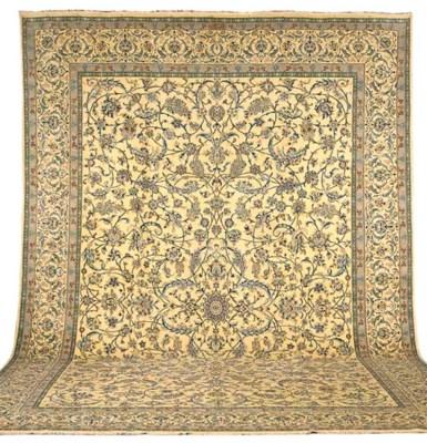 A fine Habibian Nain carpet, C