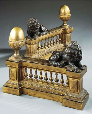 A PAIR OF LOUIS XVI GILT AND P