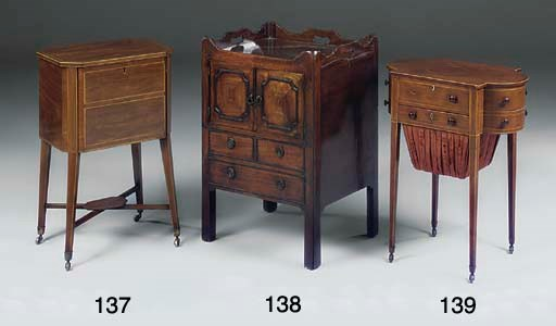 A REGENCY PARTRIDGE WOOD AND L