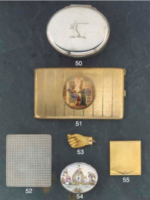 A George III Silver Table Snuf