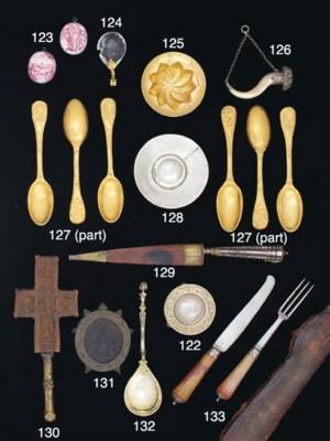 A German Silver-Gilt Spoon