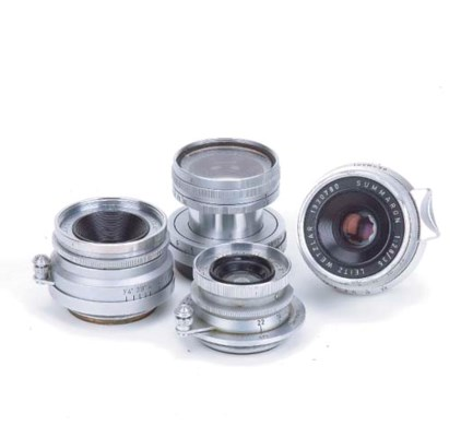 Leica screw-fit lenses