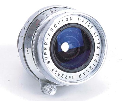 Super-Angulon f/4 21mm. no. 16